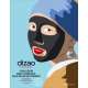 Dizao Natural Boto Mask Καθαρισμού & Αποτοξίνωσης Προσώπου με Υαλουρονικό Οξύ & Ενεργό Άνθρακα - Περιέχει 5 μάσκες