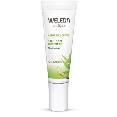 WELEDA Naturally Clear SOS Spot Treatment Για Άμεση Καταπολέμηση Aτελειών 10 ml