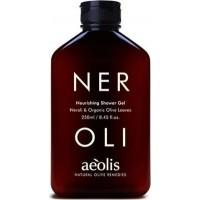 AEOLIS Shower Gel µε Νερόλι & Βιολογικά Φύλλα Ελιάς 250ml