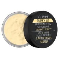 GOSH Velvet Touch Prime'n Set Powder 002 Banana - 7g