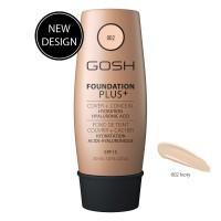 GOSH Foundation Plus+ Ivory 02 - 30ml