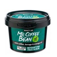 """Beauty Jar """"MR. COFFEE BEAN"""" Scrub προσώπου για αποτοξίνωση 50gr"""