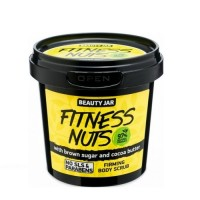 "Beauty Jar ""FITNESS NUTS"" Συσφικτικό scrub σώματος 200gr"