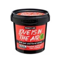 "Beauty Jar ""LOVE IS IN THE AIR"" Αφρώδη άλατα μπάνιου για ζευγάρια 200gr"