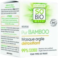 SO'BiO étic Bamboo Detox Clay Mask 50ml