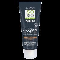 SO'BiO étic Men Shower Gel - Organic Cedar 3 in 1 - Toning 200ml