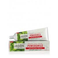 JASON Power Smile Oδοντόκρεμα Xωρίς Φθόριο/Λεύκανση & κατά της Οδοντικής Πλάκας 180ml
