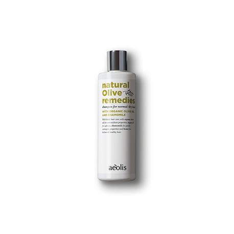 ΑEOLISΣαµπουάν για κανονικά / ξηρά µαλλιά με bio λαδι ελιας και χαμομηλι, 300μλ