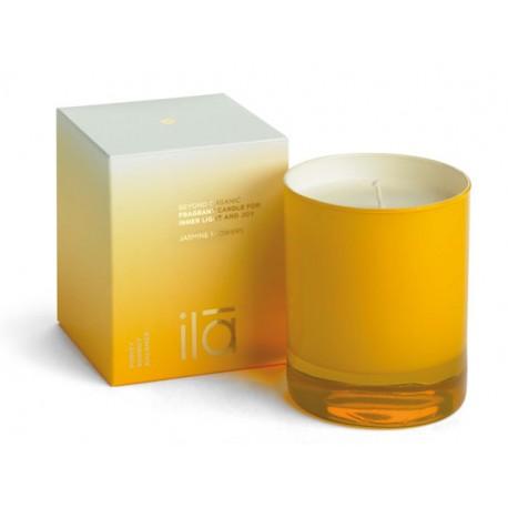 ILA Aρωματικό κερί Jasmine Flowers Για Εσωτερική Γαλήνη και Χαρά - Fragrant Candle for Inner Light and Joy  Jasmine Flowers