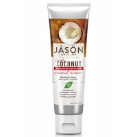 JASON Οδοντόκρεμα με Κρέμα Καρύδας για Λεύκανση Χωρίς Φθόριο 120ml