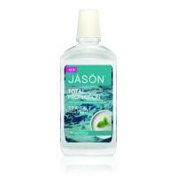JASON Στοματικό Διάλυμα με Θαλασσινό Αλάτι Sea Salt Total Protection 480ml