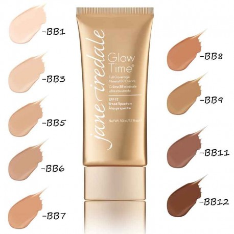 Jane Iredale GLOW TIME® FULL COVERAGE MINERAL BB5 CREAM 50 ml