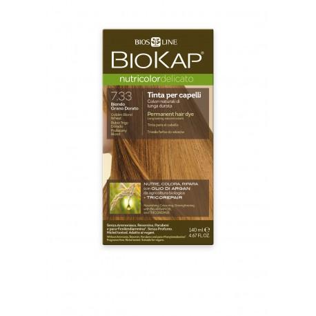 BIOKAP Delicato+  Βαφή Μαλλιών Χρώμα Ξανθό Χρυσαφι Σταρένιο 140ml
