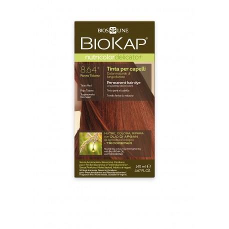 BIOKAP Delicato+  Βαφή Μαλλιών Χρώμα Ξανθό Χρυσαφι Σταρένιο