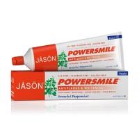 JASON Power smile οδοντόκρεμα χωρίς φθόριο/ λεύκανση & κατά της οδοντικής πλάκας