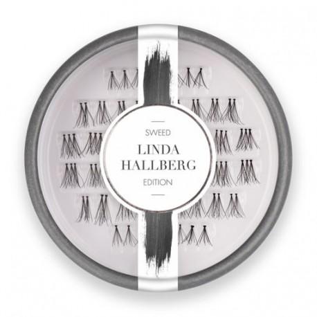 Sweedlashes Βλεφαρίδες Linda- Χρώμα :Μαύρο 8x10x12mm