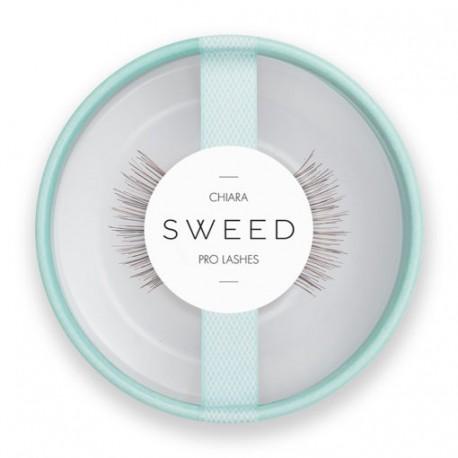 Sweedlashes Βλεφαρίδες Chiara  - Χρώμα : Καστανό  8x10x12mm