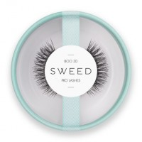Sweedlashes Βλεφαρίδες Boo 3D- Χρώμα :Μαύρο 8x10x12mm