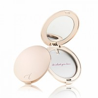 Jane Iredale χρυσή θήκη πούδρας/ make up με καθρέφτη
