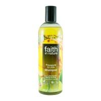 Faith in Nature Σαμπουάν Βιολογικός Ανανάς & Λάιμ 400ml / Για κανονικά λιπαρά μαλλιά