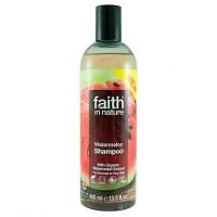 Faith in Nature Σαμπουάν Βιολογικό Καρπούζι 400ml / Για κανονικά ξηρά μαλλιά