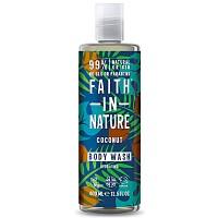Faith in Nature Αφρόλουτρο Βιολογικό Έλαιο Καρύδας 400ml