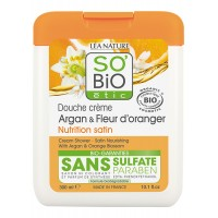 So Bio Shower Gel Cream με Αργκάν & Άνθη Πορτοκαλιάς 300ml